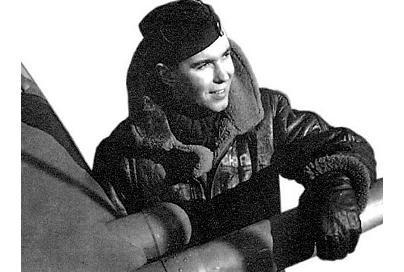Charley Fox - A Canadian Spitfire pilot in the second world war, was credited with stopping Rommel in Normandy
